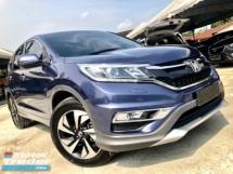 2016 HONDA CR-V 2.4 4WD (A) FACELIFT FULL SERVICE RECORD UNDER WARRANTY