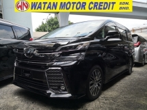 2016 TOYOTA VELLFIRE 2.5 ZG JBL THEATRE 360 CAMERAS PRE CRASH PRICE INC SST JAPAN UNREG