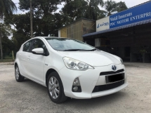 2013 TOYOTA PRIUS C 1.5 PRUS C(A)TOUCHPLAYER SUPER TIP TOP CONDITION