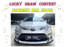 2018 TOYOTA VIOS 1.5 J UNDER TOYOTA WARRANTY