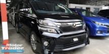 2014 TOYOTA VELLFIRE 2.4 GOLDEN EYES 2 / SUNROOF / ALPHINE JAPAN TV / COOL BOX / READY STOCK NO NEED WAIT
