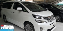 2014 TOYOTA VELLFIRE 2.4 GOLDEN EYES 2 / TIPTOP CONDITION FROM JAPAN / 5 YEARS WARRANTY UNLIMITED KM