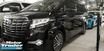 2017 TOYOTA ALPHARD 2.5 SC / PILOT SEATS / SPECIAL OFFER UNIT / DON'T MISS OUT THIS TIME / READY STOCK TIPTOP CONDITION