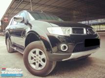 2012 MITSUBISHI PAJERO Mitsubishi Pajero Sport 2.5 (A) FACELIFT TIP TOP CONDITION 1 OWNER