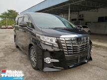 2015 TOYOTA ALPHARD 2.5 SC EDITION ALPINE SET PRE CRASH