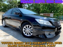 2014 TOYOTA CAMRY 2.0G FULL SPEC BLACK INTERIOR LETHER SEAT