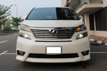 2010 TOYOTA VELLFIRE 2.4 (A) ZP - REG 13 WITH 2 DIGIT NUMBER ( WORTH 10K )