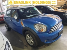 2014 MINI Countryman 1.6 Japan Spec Local AP Unreg