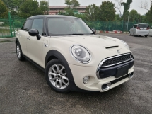 2014 MINI Cooper S 2.0 TURBO 5 DOORS JAPAN SPEC UNREGISTERED