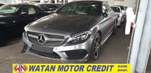 2018 MERCEDES-BENZ C-CLASS C300 COUPE AMG PREMIUM SPORT LINE  SHOWROOM CONDITION