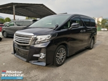 2015 TOYOTA ALPHARD 2.5 SC EDITION ALPINE SET UNREGISTERED