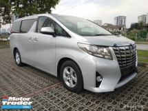 2015 TOYOTA ALPHARD 2.5 X SPEC RECON 2,power door on the road price 全包价格马币RM182,888.88 1year warranty include~import duties & sst fee & Processing fee free 1year warranty☺🙏