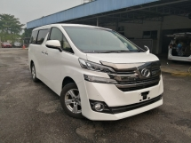 2015 TOYOTA VELLFIRE 2.5 X Edition Twin Power Door Unregistered