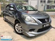 2014 NISSAN ALMERA NISMO KIT 1.5 E FACELIFE (A) (2 YEAR WARRANTY)(TRUE YEAR MAKE)(LOW MILEAGE)(ONE OWNER)