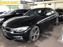 2015 BMW 4 SERIES 420i M Sport Gran Coupe 2.0 Twin Turbocharged Sport/Eco Pro Mode Selection Pre Collision Power Boot Intelligent Bi Xenon Memory Bucket Seat Multi Function Paddle Shift Steering Lane Departure Assist Reverse Camera Bluetooth Connectivity Unreg