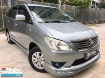 2013 TOYOTA INNOVA 2.0E (AT)MPV 2 Year Warranty(TRUE YEAR MAKE)(LOW MILEAGE)(ONE OWNER)
