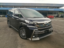 2015 TOYOTA VELLFIRE 2.5 ZG EDITION Modellista JBL 4 CAMERA UNREGISTERED
