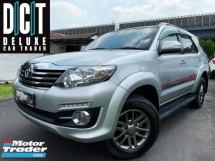 2016 TOYOTA FORTUNER 2.7V LED POWER SEAT FULL TRD  FACELIFT WEEKEND USED NO OFF ROAD CAR TIP TOP CONDITION