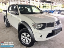 2013 MITSUBISHI TRITON 2.5 MT TURBO 4X4 DOUBLE CAB 2 YEAR WARRANTY(LOW MILEAGE)(ONE OWNER)(TRUE YEAR MAKE)