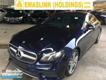 2018 MERCEDES-BENZ E-CLASS E300  2.0 AMG LINE PREMIUM COUPE P-ROOF