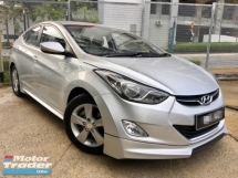2012 HYUNDAI ELANTRA 1.6 GLS (A)2 YEAR WARRANTY(TRUE YEAR MAKE)(LOW MILEAGE)(ONE OWNER)