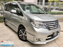 2017 NISSAN SERENA HIGHWAY STAR 2.0 S-HYBRID MPV 2 YEAR WARRANTY(ONE OWNER)(LOW MILEAGE)(UNDER WARRANTY)