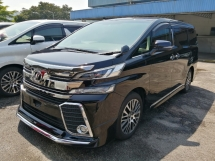 2016 TOYOTA VELLFIRE 2.5 ZG EDITION MODELLISTA UNREGISTERED
