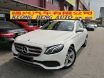 2016 MERCEDES-BENZ E-CLASS E200 W213 New Model CBU TRUE YEAR MADE 2016 Mil 7k km only Hap Seng Service Warranty March 2021