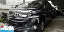 2017 TOYOTA VELLFIRE X 2.5CC / 8 SEATER / 2 PWR DOOR / READY STOCK NO NEED WAIT