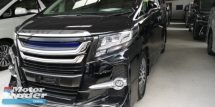 2016 TOYOTA ALPHARD 2.5CC SC / PILOT SEATS / ORI JPN FULL SET MODELISTA KITS / TIPTOP CONDITION FROM JAPAN / READY STOCK