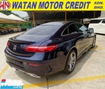 2018 MERCEDES-BENZ E-CLASS 300 COUPE AMG LINE UNREGISTER 1 YEAR WARRANTY