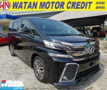 2015 TOYOTA VELLFIRE 2.5 ZG Sun Roof Unregister 1 YEAR WARRANTY