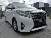 2015 TOYOTA ALPHARD 2.5 X 2 Power Door Unreg 2015