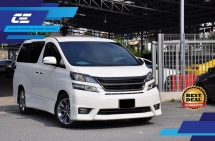 2012 TOYOTA VELLFIRE 2.4 Z PLATINUM GOLDEN EYE PACKAGE