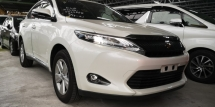 2014 TOYOTA HARRIER 2.0 ELEGANCE / SUNROOF / 4 YEARS WARRANTY UNLIMITED KM