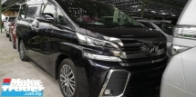 2017 TOYOTA VELLFIRE ZG 2.5 / PILOT SEATS / TIPTOP CONDITION FROM JAPAN / READY STOCK NO NEED WAIT / OFFER