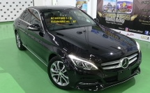 2016 MERCEDES-BENZ C-CLASS 2016 MERCEDES C180 1.6 METER HEAD UP DISPLAY CAR SELLING PRICE ( RM 179000.00 NEGO )