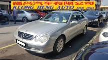 2005 MERCEDES-BENZ CLK CLK240 2.6cc V6 (A) COUPE 2 DOOR, REG 2011, UK SPEC, CAREFUL OWNER, 100% ACCIDENT FREE, LEATHER SEAT, AVANT-GARDE MODEL, 16