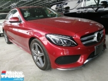 2014 MERCEDES-BENZ C-CLASS C180 1.6 AMG  NEW ARRIVAL/POWER BOOT/PUSH START/HEAD UP DISPLAY