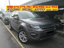 2015 LAND ROVER DISCOVERY SPORT Si4 SE 2.0 TRUEYEAR MADE 2015 CBU SISMA Low Mil 48k km Full Service Under Warranty Nov 2021
