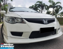 2009 HONDA CIVIC 1.8 I-VTEC Facelift Condition Tiptop FulloanOTR 1Jam Lulus Promotion Bank
