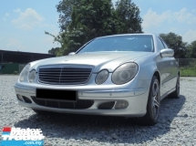 2005 MERCEDES-BENZ E-CLASS 1.8 W211 TipTOP Condition LikeNEW
