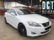 2010 LEXUS IS250 LUXURY FACELIFT PADDLE SHIFTER ELECTRIC SEAT LEATHER SEAT