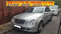 2005 MERCEDES-BENZ E-CLASS E200K W211 (A) REG 2005, LOCAL MODEL, CAREFUL OWNER, 100% ACCIDENT FREE, MILEAGE DONE 128K KM, 18