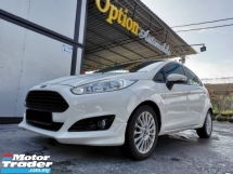 2013 FORD FIESTA 1.5 sport edition (A) Full service record 37k mileage only car king guarantee