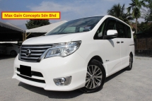 2014 NISSAN SERENA 2.0 (A) HYBRID HIGHWAY STAR PREMIUM SPECS FULL SERVICE RECORD