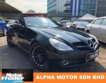 2008 MERCEDES-BENZ SLK SLK200 1.8 (A) FACELIFT UK SPEC