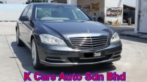 2011 MERCEDES-BENZ S-CLASS S300L V221 3.0 V6 Facelift CKD Local New Car Excellent Condition Never Accident Original Paint Air Suspension Good Working No Repair Need Worth Buy