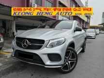 2016 MERCEDES-BENZ GLE GLE43 COUPE AMG CBU Done 3088km only Full Service Hap Seng MBM Warranty until August 2021