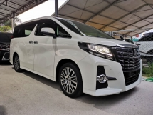 2016 TOYOTA ALPHARD 2.5 S C (SUPER OFFER)